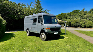 Mercedes Vario 4x4 Motorhome with diff lock, Off grid conversion Camper project