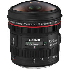 Canon EF 8-15mm F4L Fisheye USM Fisheye Ultra/Wide Zoom Lens,London