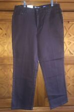 Style & Co Womens Brown Jeans Sz 12P Easy Relaxed Stretch Classic 5 Pocket