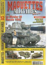 Military models # 52 marder Iii russia 1943/centaur mk Iv/fiat 626 nl