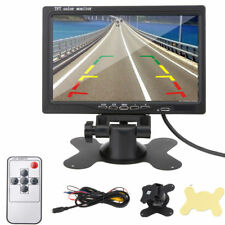 7inch LCD Car Monitor Rearview Screen Digital Display For Backup Camera
