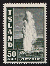 Iceland 1938 unmounted mint / never hinged , Geysir  50 AUR