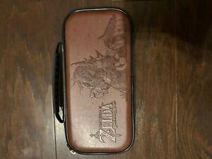 Nintendo Switch Game Traveler Deluxe Travel Case - Zelda Link Brown