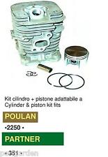 CILINDRO-PISTONE POULAN- 222-2250-2375 -2450-2550- 262-BH2160-BH266