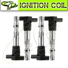 Set of 4 Ignition Coils for VW Beetle Golf Jetta Passat Audi TT A4 1.8L C1394