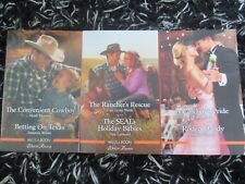 MILLS & BOON 6 WESTERN ROMANCES 10/2018 LIKE NEW