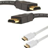NEW! 14cm 1m 2m 3m 8m HDMI Cable v1.4A Gold HDTV 1080P Full HD Cable Lead