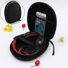 Hard Headphone Case Headset Carry Pouch Box Earphone Zippered Storage Box