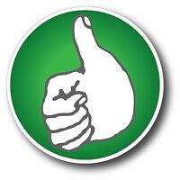 Impractical Jokers Thumbs Up Win Funny Car Bumper Vinyl Sticker Decal