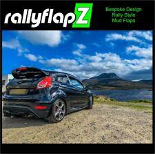 Ford Fiesta Mk7.5 ST180 rallyflapZ Mudflaps & Fixing Kit  Black 4mm PVC *Gloss
