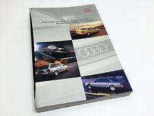 1999 Audi A4 A6 Sedan Avant A8 Full Line Brochure