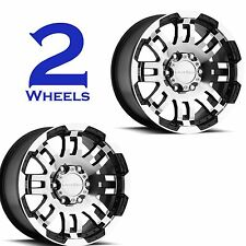 TWO Aluminum Trailer RIMs WHEELs Vision Warrior 14x5.5 5/4.5 375VT4565GBMF0