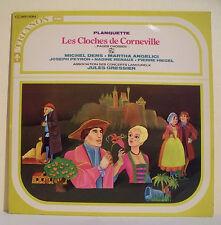 """33T CLOCHES CORNEVILLE Disque LP 12"""" DENS ANGELICI PEYRON RENAUX HIEGEL GRESSIER"""