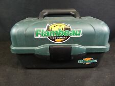 Flambeau Outdoors Fishing Tackle Box 13X6X7