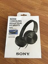 Sony MDR-ZX110NC Noise Cancelling Headphones Color Black