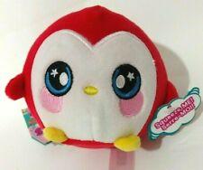 Squeezamals Paulina Penguin Christmas Red Squishy Soft Plush Toy Pets