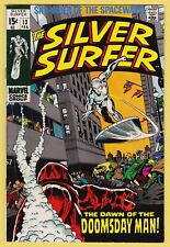 SILVER SURFER #13 VF/NM (9.0) *Origin and 1st appearance of, the Doomsday Man*