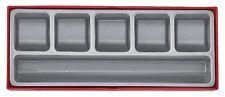 Teng Tools TTZ01 Bandeja 6 compartimentos en almacenamiento caso caja