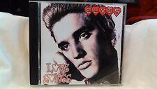 Rare Elvis Presley Love Songs 2008 Black Cat Import CD                    cd2633