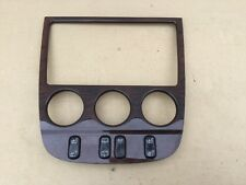 98-05 MERCEDES ML W163 CENTRAL DASH WOOD TRIM  AND SWITCH A1636802036