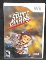 Space Chimps  - Nintendo Wii Wii U Game 1 Owner CLEAN Mint Disc !