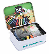 Gift In A Tin - Mini Sock Owl Micro Play Set Kids Gift *Free Delivery*