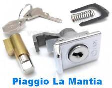 5654 SERRATURA BLOCCASTERZO 4mm+BAULETTO ANTERIORE VESPA PX 1^ SERIE 125 150 200