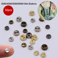 Accessories blythe Pullip Clothing Sewing  Mini Metal Buttons  DIY Doll Clothes