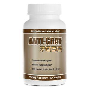 Anti Grey Hair Vitamins   Maritz Mayer - Catalase Hair Loss Supplement / Tablet