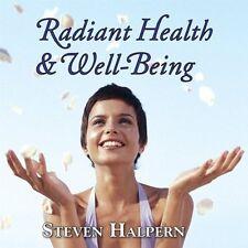 Radiant Health & Well Being 0093791202524 by Steven Halpern CD
