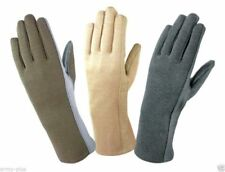 NOMEX FLIGHT FLYERS GLOVES PILOT FIRE RESISTANT Black, Green, Tan-All Sizes