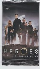Heroes archives, trading  cards  pack
