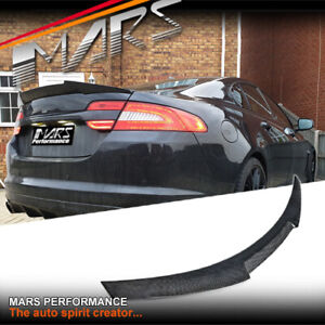 MARS Performance Carbon Fibre Rear Trunk Lip Spoiler for Jaguar XF 2012-2015