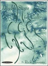 Double Stops for Cello Sheet Music Book by Rick Mooney