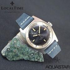 NOS 1960's AQUASTAR 'Grand'Air' 100m Dress Dive Watch AS Cal. 1802 SN# 505061