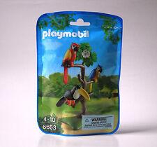 NEW Playmobil 6653 ~ Tropical Birds on Tree Perch Animals Island Zoo City Life