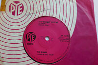 "THE KINKS - YOU REALLY GOT ME - UK 1ST PRESSING PYE 7N.15673 7"" SINGLE EX+"