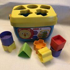 Fisher-Price Baby Shape Sorter Includes 7 Shape Blocks