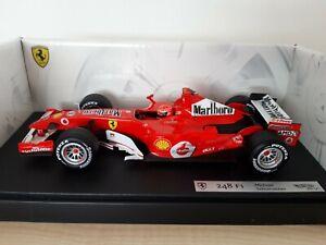 Ferrari 248 F1 2006 Michael Schumacher 1:18 Hot Wheels with decals