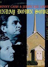 JERRY LEE LEWIS & JOHNNY CASH Sunday down south US EX LP SUN REC