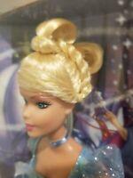 NIB 2004 Mattel Disney Sparkle Princess Cinderella Doll Ring Glitter Hairstyle