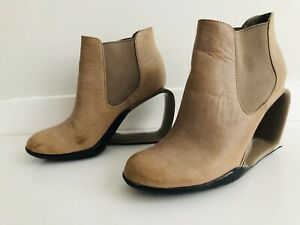 United Nude Sz 5 Womans Wedge/Boot Style Heels *FREE POST*