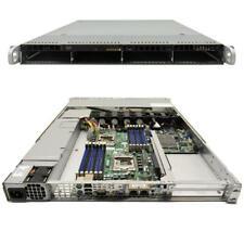 Supermicro CSE-815 1U Rack Server Mainboard X8DTU-F LGA 1366 2x CPU Kühler