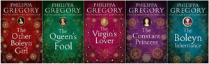 PHILIPPA GREGORY TUDOR SERIES BOOKS 1-5 VERY GOOD THE QUEENS FOOL