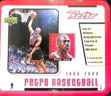 1999-2000 Upper Deck Retro Sealed Hobby Lunch Box Michael Jordan