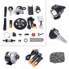 350W 24V Electric Bicycle Mid-Drive Motor Conversion Kit Refit Parts DIY E-bike