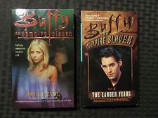 2000 BUFFY THE VAMPIRE SLAYER Prime Evil & Xander Years v.2 VF/NM Paperback LOT