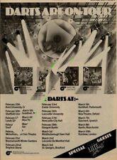 Darts The Late Show UK Tour Advert 1979 MM-RTYU