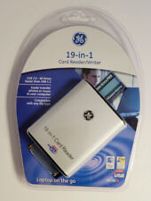 Ge 98780 Usb 2.0 19 in 1 Card Reader/Writer Laptop On The Go New Sealed