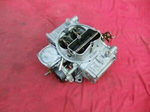 Holley Carburetor Street Warrior Model 4160 List 80457-2 600 CFM